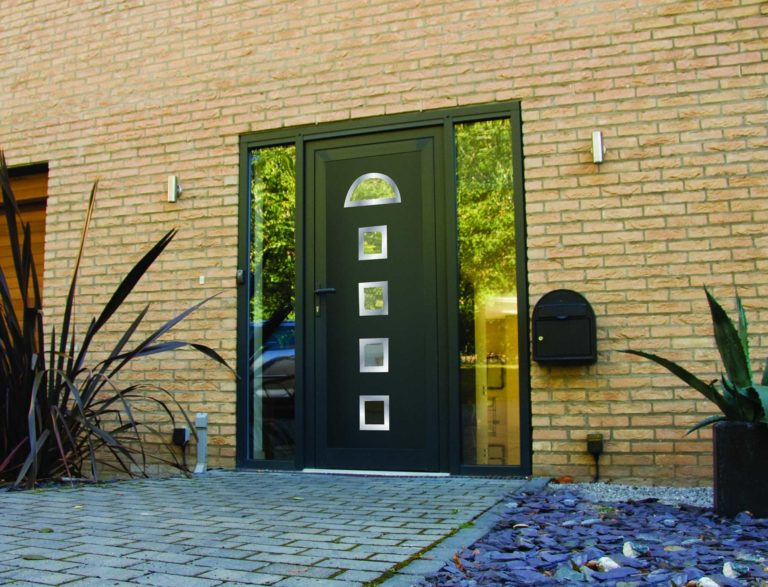 Black Front Doors Lancashire